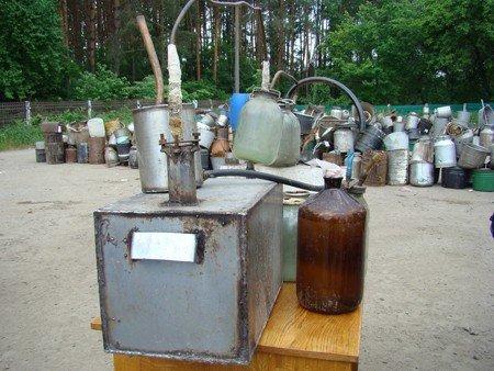 На Житомирщині правоохоронці знищили 120 літрів самогону (ФОТО), фото-4