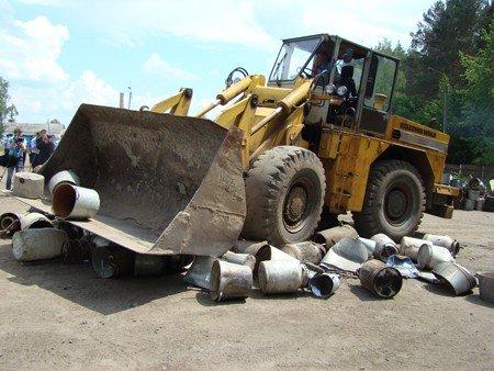 На Житомирщині правоохоронці знищили 120 літрів самогону (ФОТО), фото-8