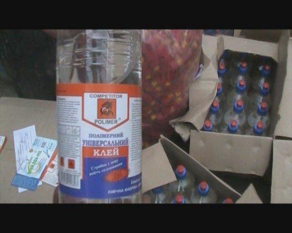 В городе химиков Северодонецке оперативники нашли цех по производству поддельного клея (ФОТО), фото-4