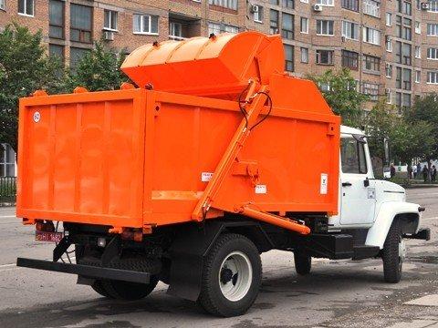 Горловский горсовет приобрел два мусоровоза, фото-3