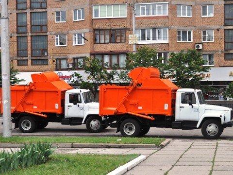 Горловский горсовет приобрел два мусоровоза, фото-4