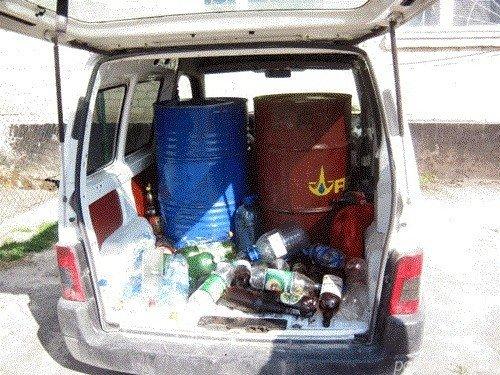 Волинянин без жодних документів перевозив 400 літрів пального (ФОТО), фото-2