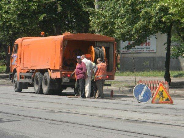 Криворожские дорожники ликвидируют последствия ливней (ФОТО), фото-2