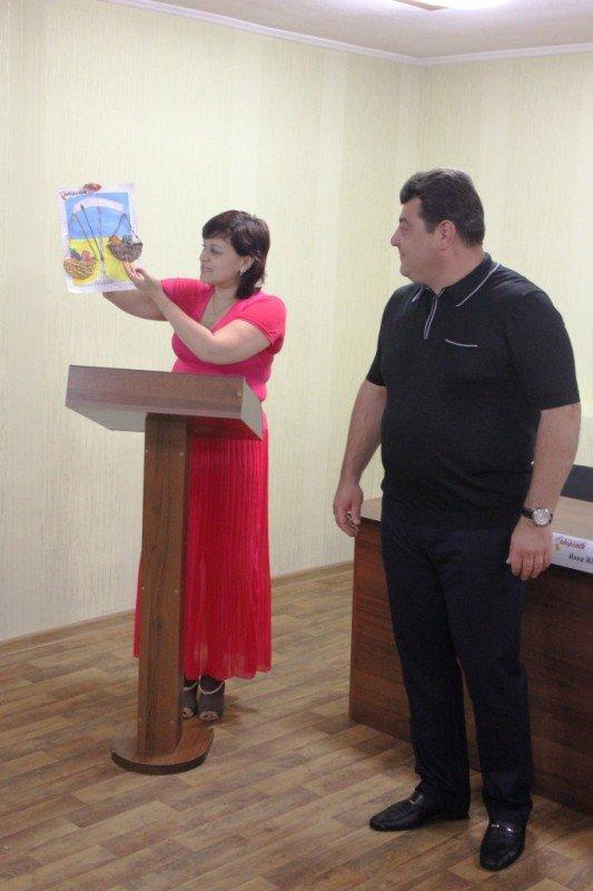 Ксения Линник получила спецприз от Сайта города Артемовска за витаминный натюрморт, фото-3