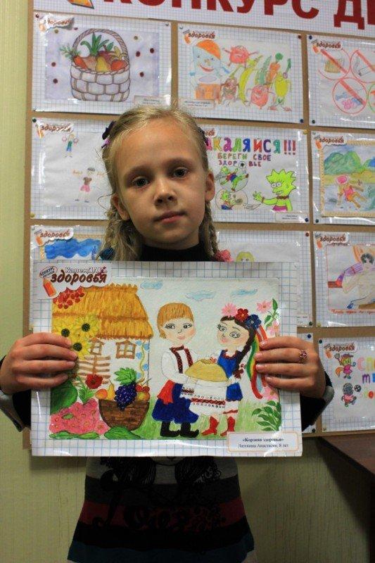 Ксения Линник получила спецприз от Сайта города Артемовска за витаминный натюрморт, фото-8