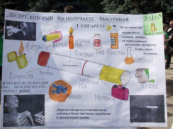 На площади Победы прошёл флешмоб, посвящённый Всемирному дню без табака, фото-1