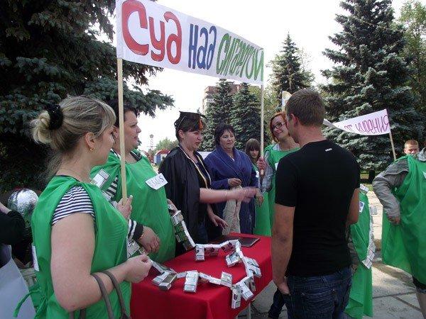 На площади Победы прошёл флешмоб, посвящённый Всемирному дню без табака, фото-2