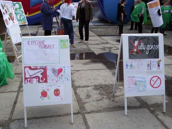 На площади Победы прошёл флешмоб, посвящённый Всемирному дню без табака, фото-4