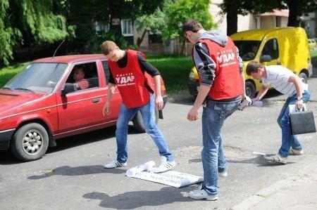 Рівняни «УДАРили фарбою по ямах» (ФОТО), фото-3