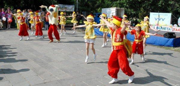 В Луганске празднуют День защиты детей (ФОТО), фото-1