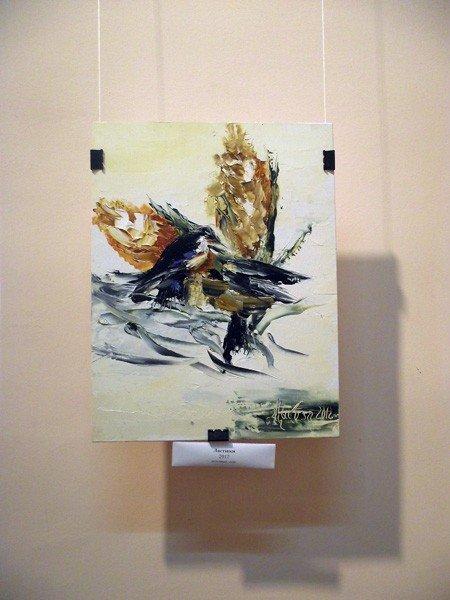 Горловский художник Валерий Цыкоза открыл свою выставку «Странник искусства», фото-3