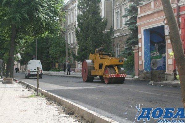 У Тернополі на вул.Коперника постелили асфальт (фото), фото-3