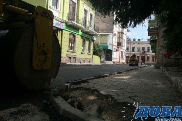 У Тернополі на вул.Коперника постелили асфальт (фото), фото-5