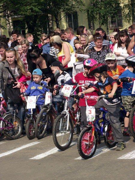 В Горловке прошли первые детские велогонки «Киндер-старт», фото-2