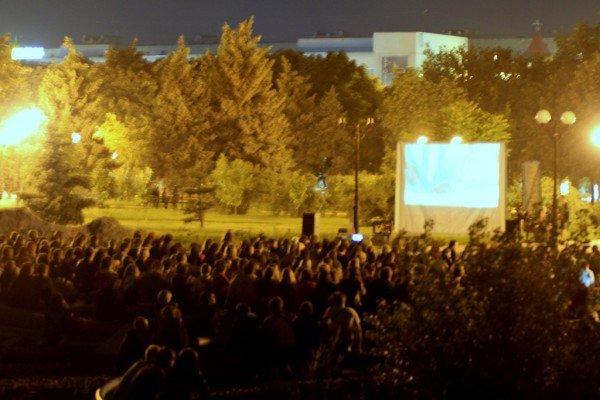 В Луганске под открытым небом прошел фестиваль запрещенных фильмов (ФОТО), фото-1