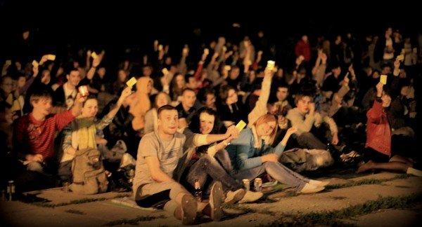В Луганске под открытым небом прошел фестиваль запрещенных фильмов (ФОТО), фото-3