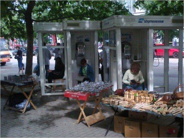 Торговцев из телефонных будок будут выгонять милицией и судами (ФОТО), фото-1
