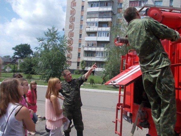 Артемовские школьники отметили День защиты детей под звук пожарной сирены, фото-4