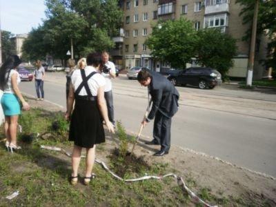 В Горловке теперь есть Аллея журналистов, фото-2