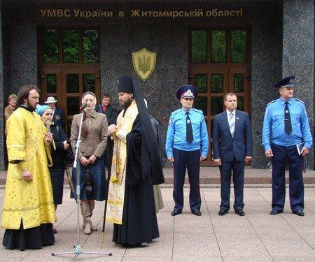 Житомир відправив до Києва збірний загін працівників міліції, фото-3