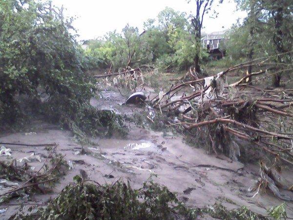 Наслідки стихії на Тернопільщині (фото від місцевих жителів), фото-10