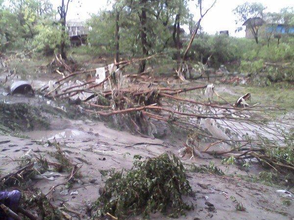 Наслідки стихії на Тернопільщині (фото від місцевих жителів), фото-6