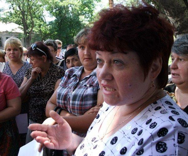 В Донецке на митинг протеста вышли работники хлебозавода (фото), фото-2