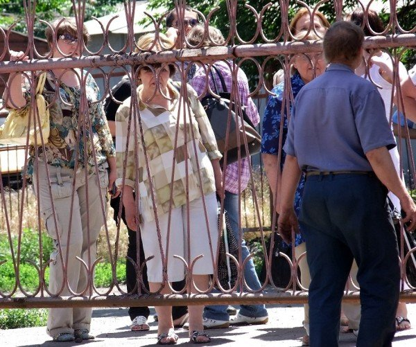В Донецке на митинг протеста вышли работники хлебозавода (фото), фото-6