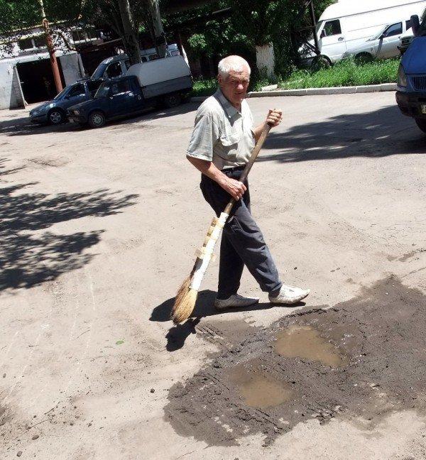 В Донецке на митинг протеста вышли работники хлебозавода (фото), фото-7