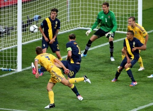 Браво, Шева! Браво, Украина!  (ФОТО лучших моментов матча), фото-5