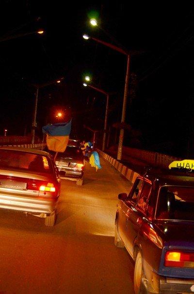 Як тернополяни вночі святкували перемогу збірної України (фото), фото-12