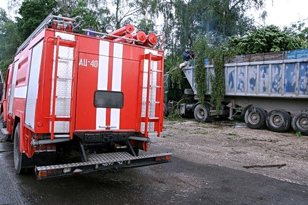 На Тернопільщині рятувальники звільняли трасу від повалених дерев (ВІДЕО, ФОТО), фото-6