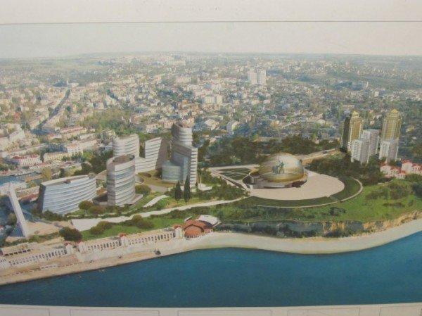 Главный архитектор города представил 11 проектов-концепций застройки мыса Хрустальный (ФОТО), фото-3