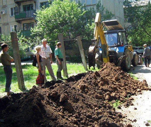 Игорь Шкиря и горловские «регионалы» за пару дней решили 15-летнюю проблему жителей дома по ул. Шепелева, фото-2