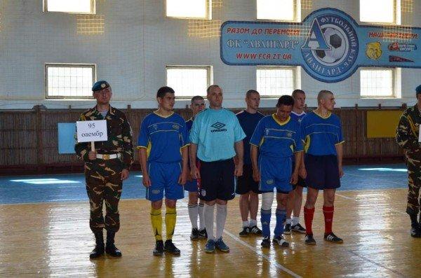 Бердичівські «каноніри» стали переможцями турніру серед військових, фото-2