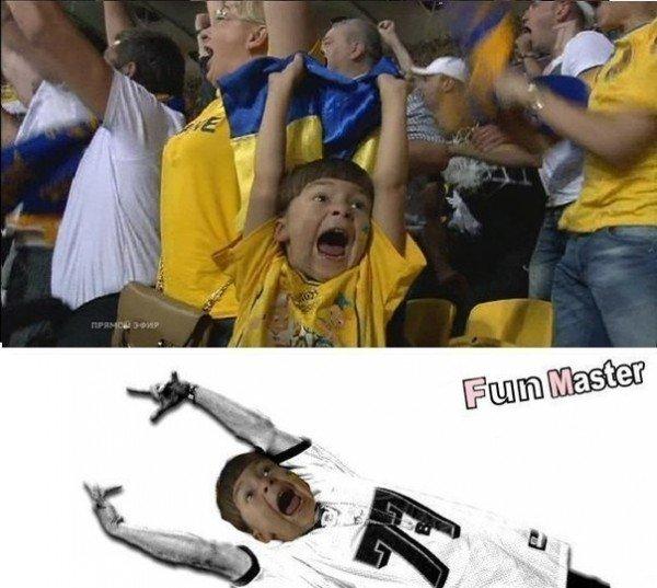 Матч «Украина-Франция». Самые смешные мемы и фотоприколы в поддержку нашей сборной (Фото), фото-6