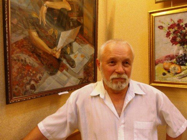 Краснолиманский художник Николай Корягин представил в Артемовске «Новую палитру», фото-2