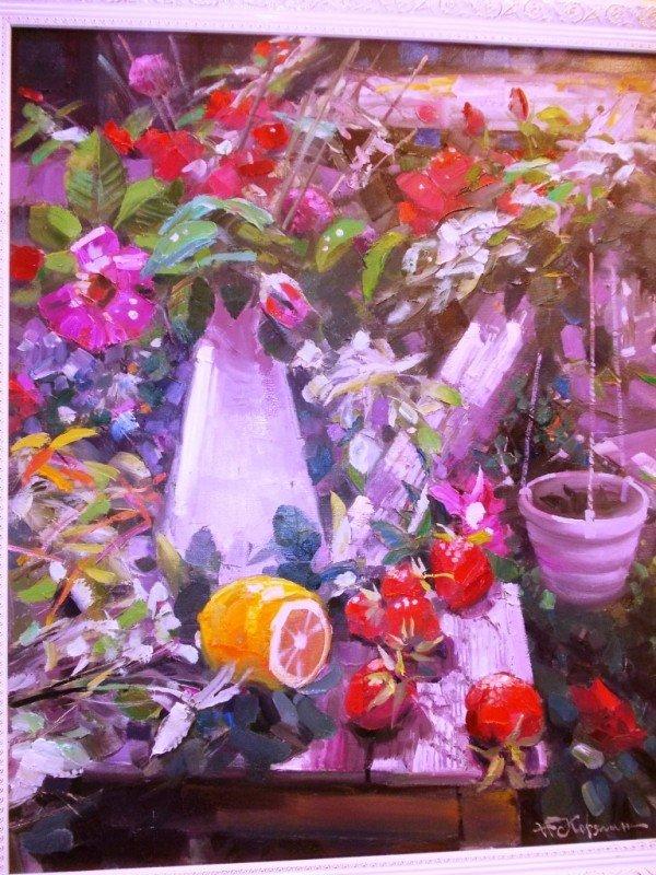 Краснолиманский художник Николай Корягин представил в Артемовске «Новую палитру», фото-9