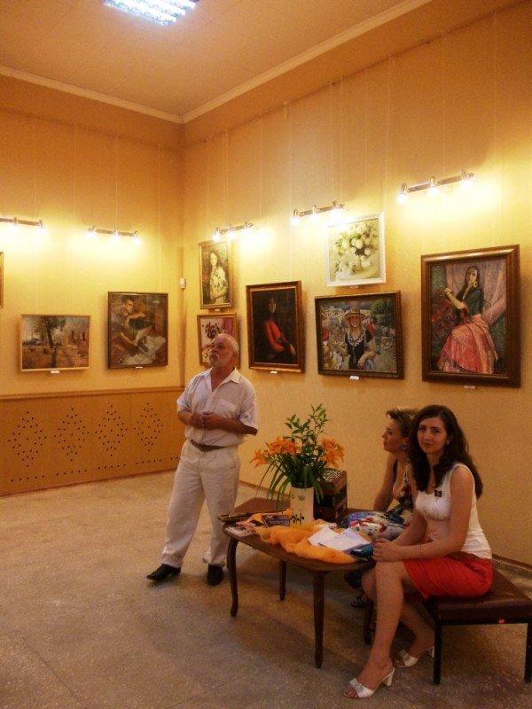 Краснолиманский художник Николай Корягин представил в Артемовске «Новую палитру», фото-10