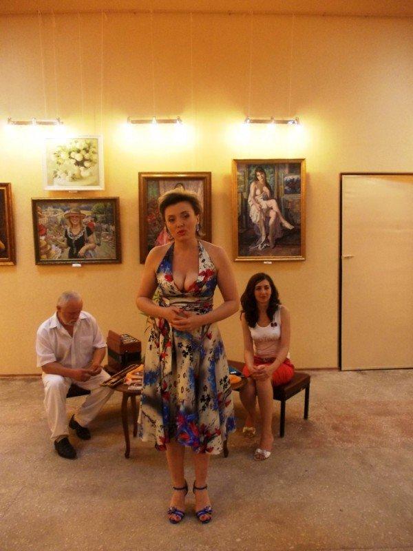 Краснолиманский художник Николай Корягин представил в Артемовске «Новую палитру», фото-11