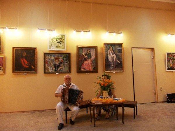 Краснолиманский художник Николай Корягин представил в Артемовске «Новую палитру», фото-12