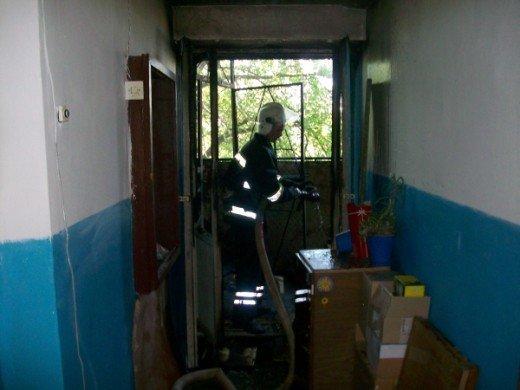 Хто у Рівному підпалив захламлений балкон, ще невідомо, фото-2