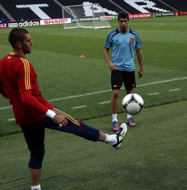 Сборная Испании провела открытую тренировку на «Донбасс Арене» (фото), фото-1