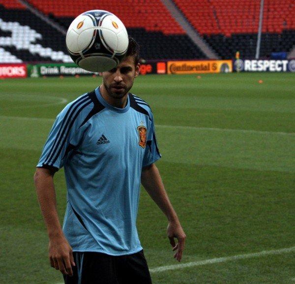 Сборная Испании провела открытую тренировку на «Донбасс Арене» (фото), фото-3