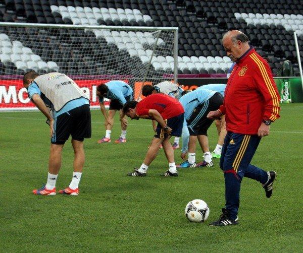 Сборная Испании провела открытую тренировку на «Донбасс Арене» (фото), фото-9
