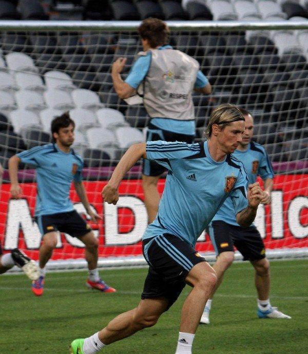 Сборная Испании провела открытую тренировку на «Донбасс Арене» (фото), фото-10
