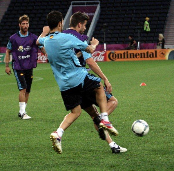 Сборная Испании провела открытую тренировку на «Донбасс Арене» (фото), фото-11