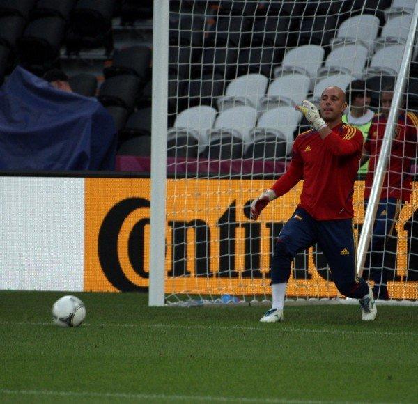 Сборная Испании провела открытую тренировку на «Донбасс Арене» (фото), фото-12
