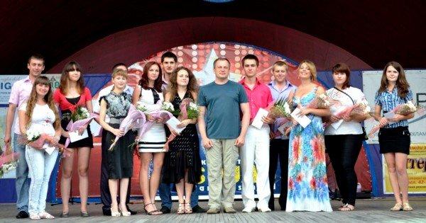 Житомирський голова Володимир Дебой відзначив кращих студентів стипендіями (ФОТО), фото-8