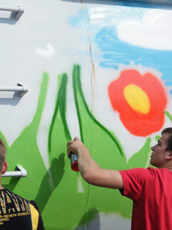 Вчера в Горловке отпраздновали Международный день молодёжи, фото-2